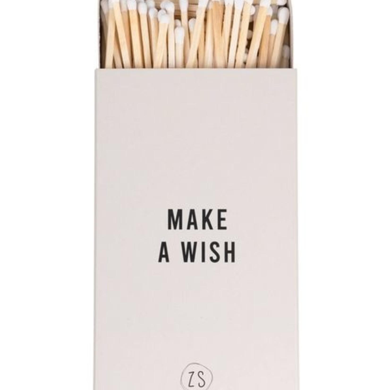 Zusss Lucifer doosje - Zand - Make a wish