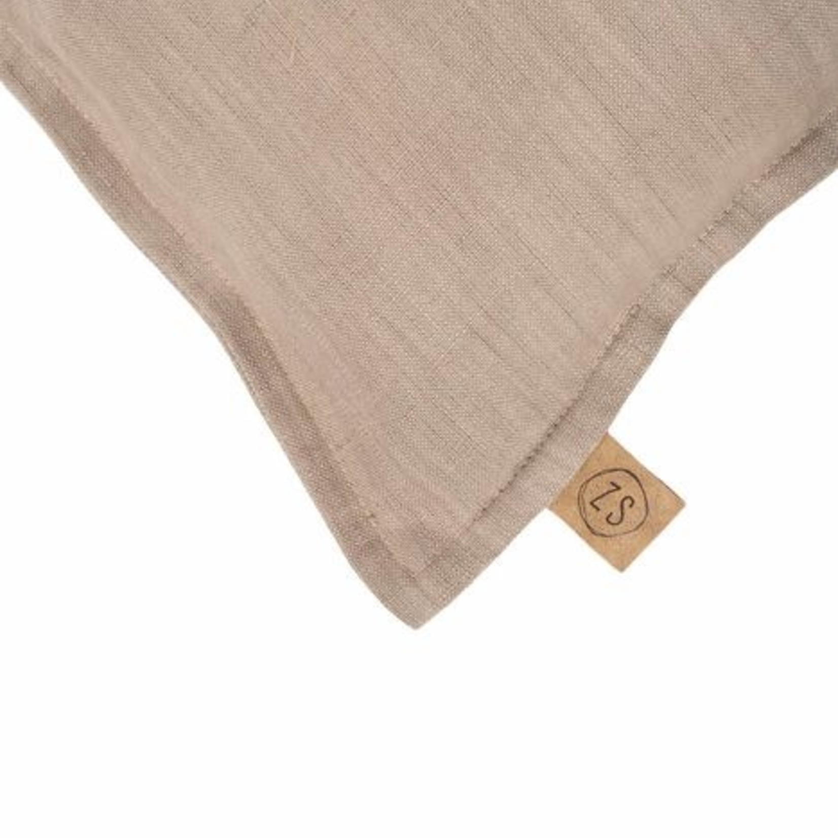 Zusss Kussen - It's oke to be happy - 35x25cm - Taupe