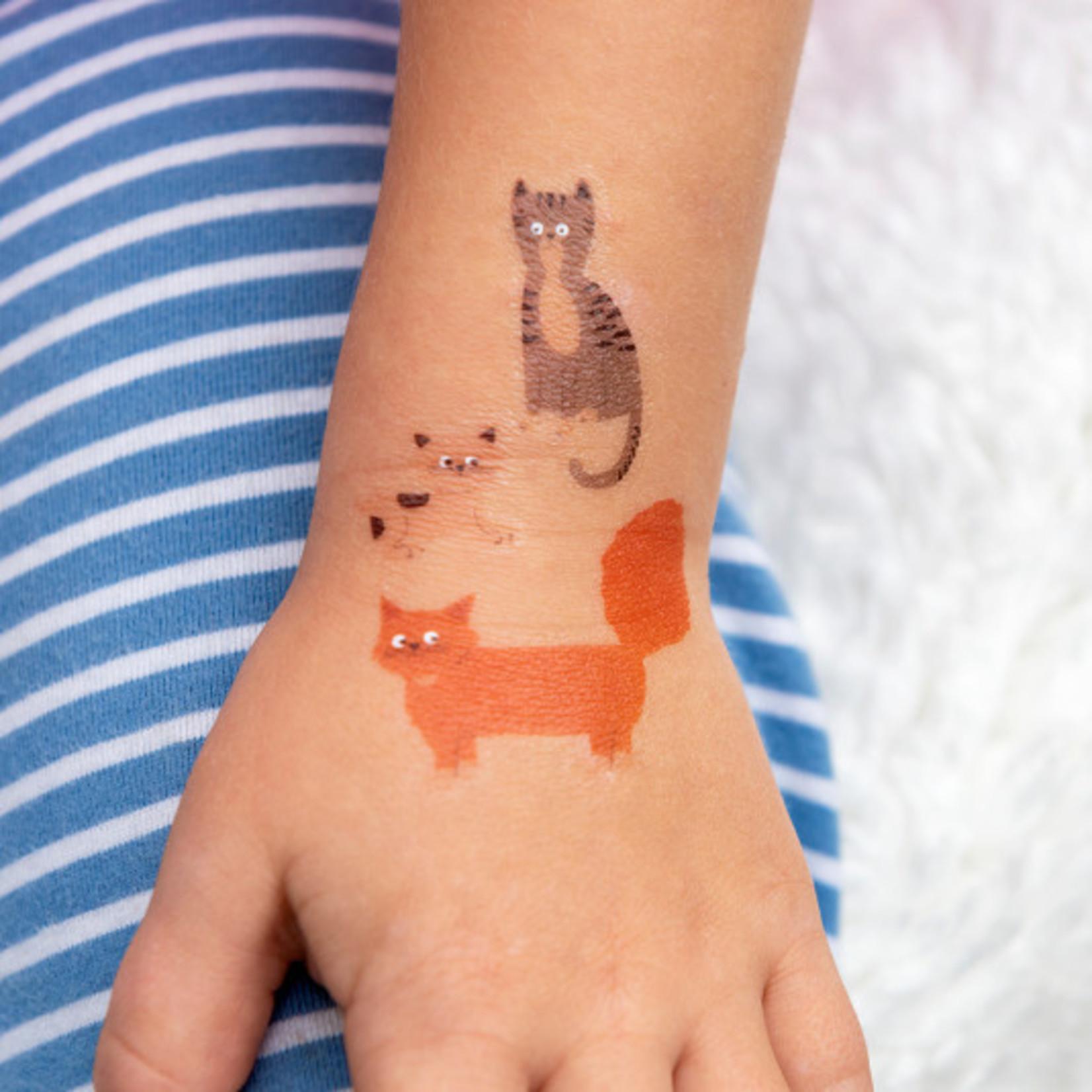 Rex London Tattoo set - Katten