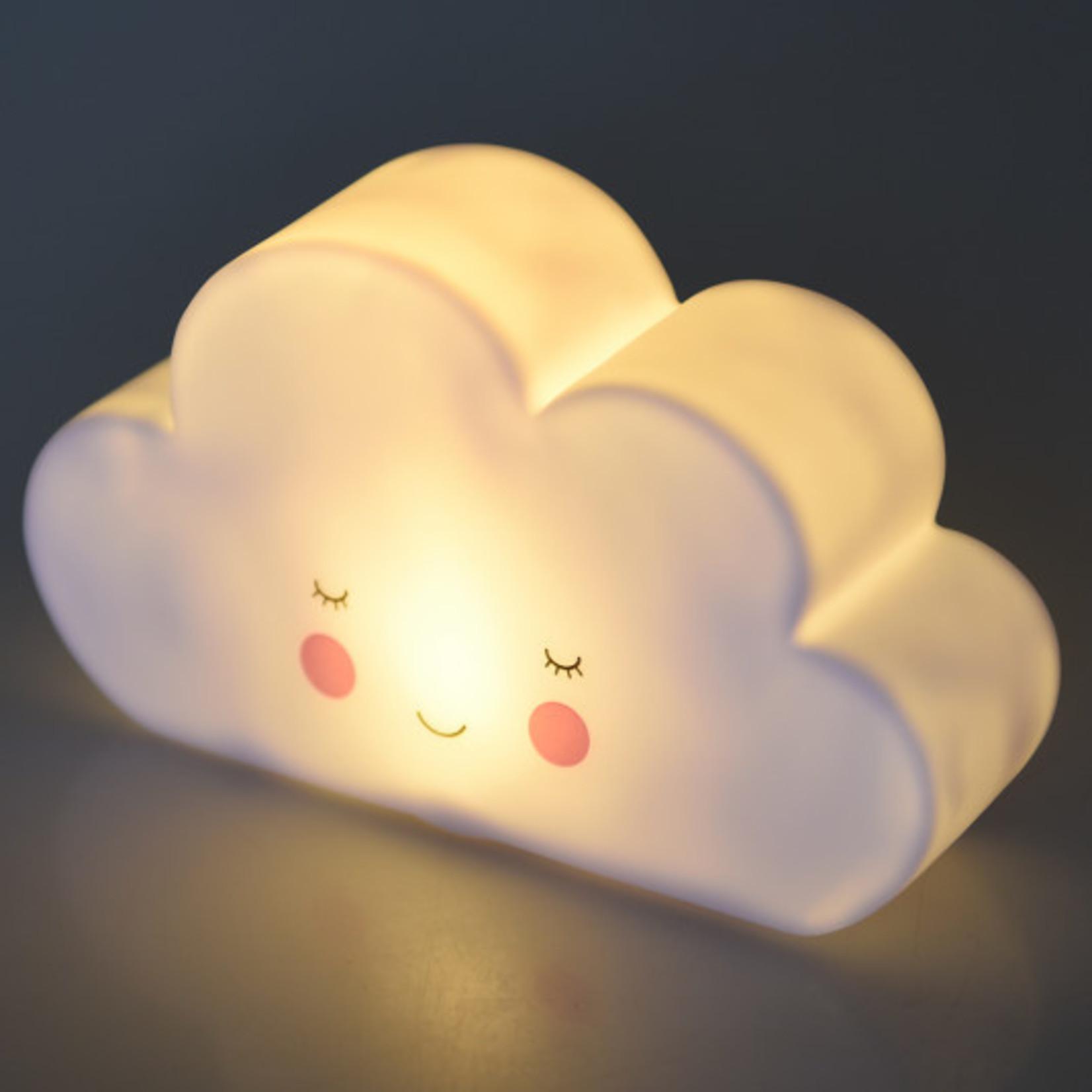 Rex London Nachtlampje - Wolk - Wit