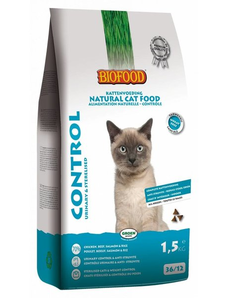 Biofood NCF Control Urinary & Sterilised (1,5 kg)