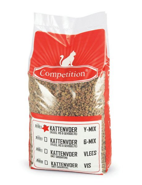 Competition Kattenbrok Y mix Kip Adult (10 kg)