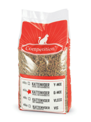 Competition Cat chunks 6 mix Chicken Adult (10 kg)