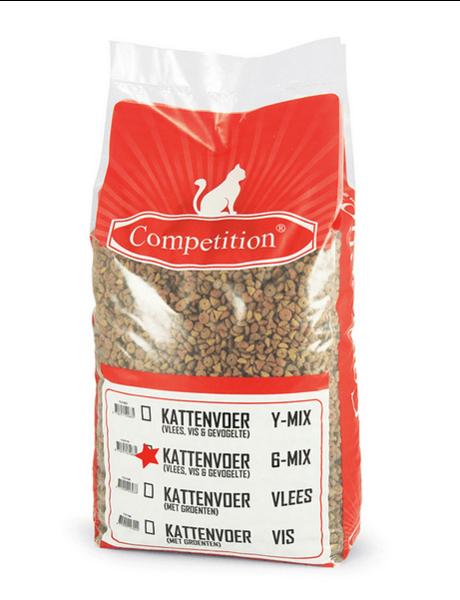 Competition Kattenbrokjes 6 mix Kip Adult (10 kg)