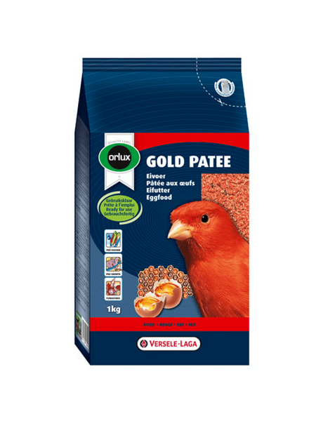 Orlux Gold patee rood