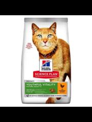 Hill's Science Plan Youthful Vitality Adult 7+ Kattenvoer met Kip & Rijst