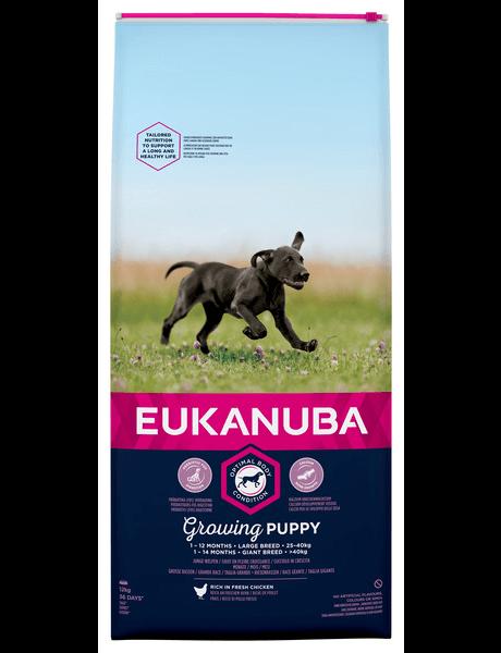 Eukanuba Puppy/Junior large breed Kip (12 kg)
