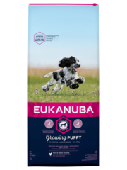 Eukanuba Puppy/Junior medium breed Kip (12 kg)