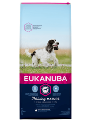 Eukanuba Mature senior medium Kip (12 kg)