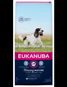 Eukanuba Mature senior medium Kip (12 kg)