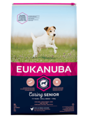 Eukanuba Caring Senior Small Breed Kip (12 kg)