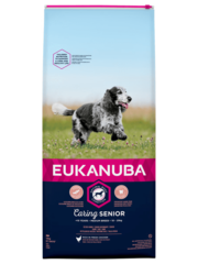 Eukanuba Caring Senior Medium Breed Kip (12 kg)