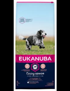Eukanuba Caring Senior Medium Breed Chicken (12 kg)