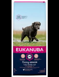 Eukanuba Caring Senior Large Breed Kip (12 kg)