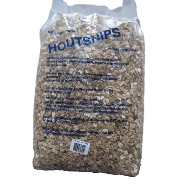 Houtsnips Beukensnippers 8mm (5 kg)