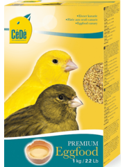 Cede Egg food canaries