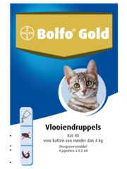 Bayer Bolfo Gold 40 (4 x 0,4ml)