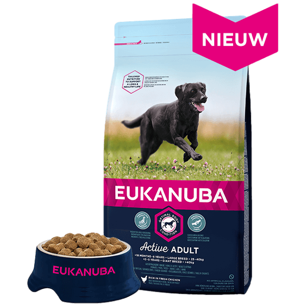 Eukanuba Adult large breed Chicken (12 kg)