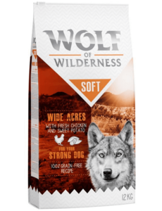 Wolf of Wilderness Adult Soft & Strong Wide Acres Chicken