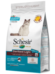 Schesir Sterilized & Light with Fish