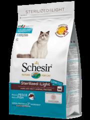 Schesir Sterilized & Light with Fish