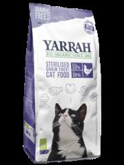 Yarrah Biologisch Grain-Free voor gesteriliseerde katten