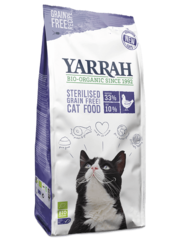 Yarrah Organic Grain-Free for sterilized cats