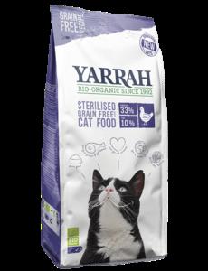 Yarrah Organic Grain-Free for sterilized cats