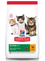 Hill's Ideal Balance Chicken and Brown Rice Kitten Food (2 kg)