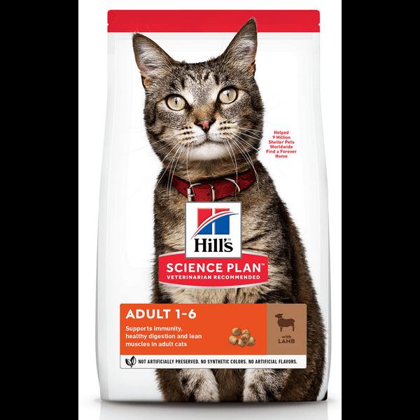 Hill's Science Plan Feline Adult Lam (7 kg)