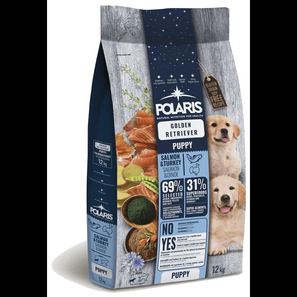 Polaris Golden Retriever Puppy Zalm & Kalkoen Graanvrij