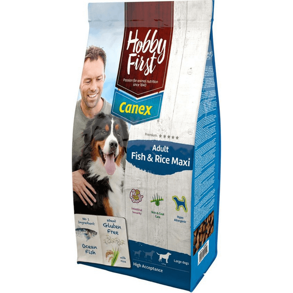 HobbyFirst Canex Adult Fish & Rice Maxi (12 kg)