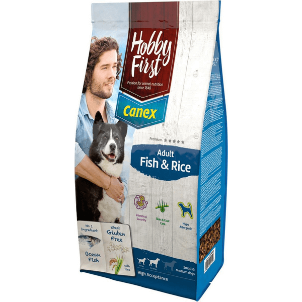HobbyFirst Canex Adult Fish & Rice (12 kg)