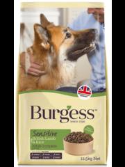Burgess Sensitive Adult Lam en Rijst (12,5 kg)