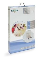 Petsafe Animal hatch 660 aluminium XL white