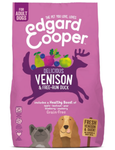 Edgard & Cooper Fresh Venison & Free run Duck