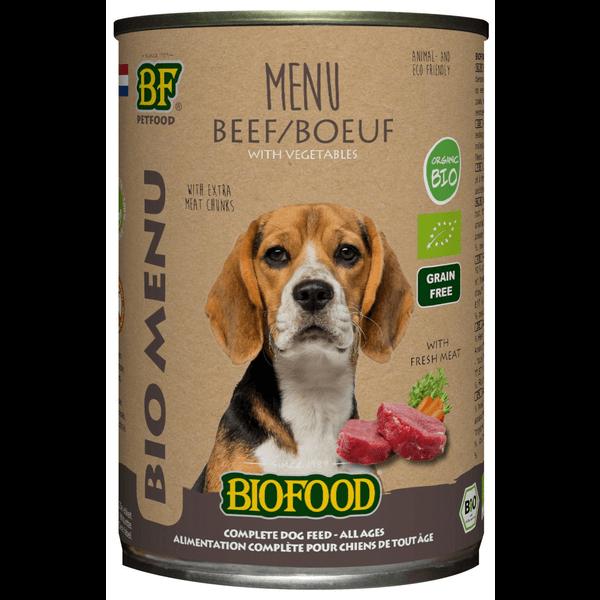Biofood Bio menu Rund (12 x 400g)