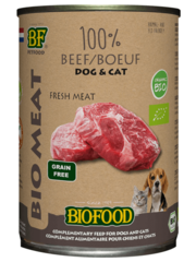 Biofood Organic 100% Rundvlees (12 x 400g)