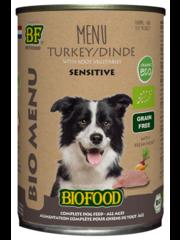 Biofood Bio menu Kalkoen (12 x 400g)