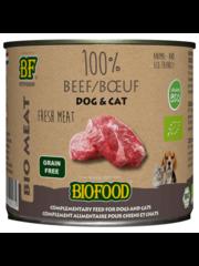 Biofood Organic 100% Beef (12 x 200g)