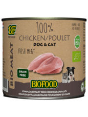Biofood Organic 100% meat Chicken (12 x 200g)