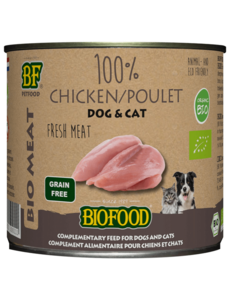Biofood Organic 100% meat Chicken (12 x 200g)