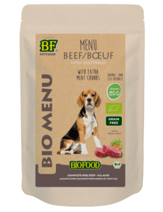 Biofood Bio menu Beef (15 x 150g)