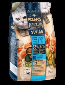 Polaris Kat Senior Zalm & Eend Graanvrij
