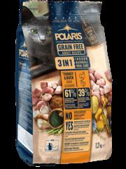 Polaris Kat Adult Kalkoen & Eend 3 in 1 Graanvrij