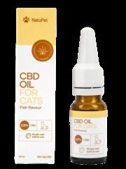 Natupet CBD Olie voor Katten - Vis (2,5%) 10ml