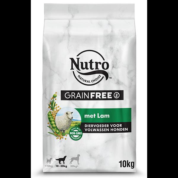 Nutro Adult Medium Lam Graanvrij (10 kg)