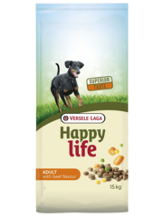 Versele-Laga Happy Life Adult with Beef Flavour (15 kg)