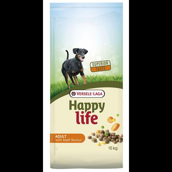 Versele-Laga Happy Life Adult met Rundsmaak (15 kg)