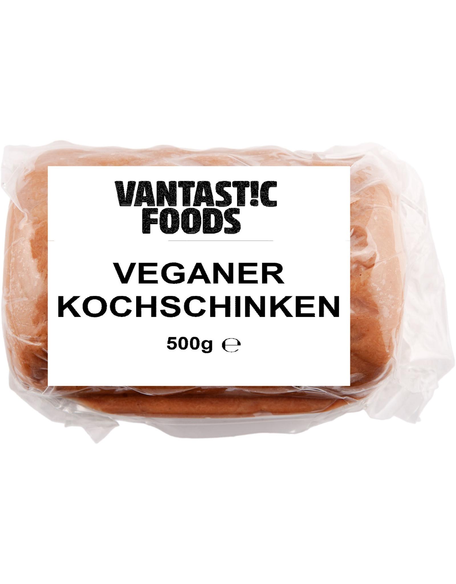 VANTASTIC FOODS JAMÓN COCIDO VEGANO, 500G